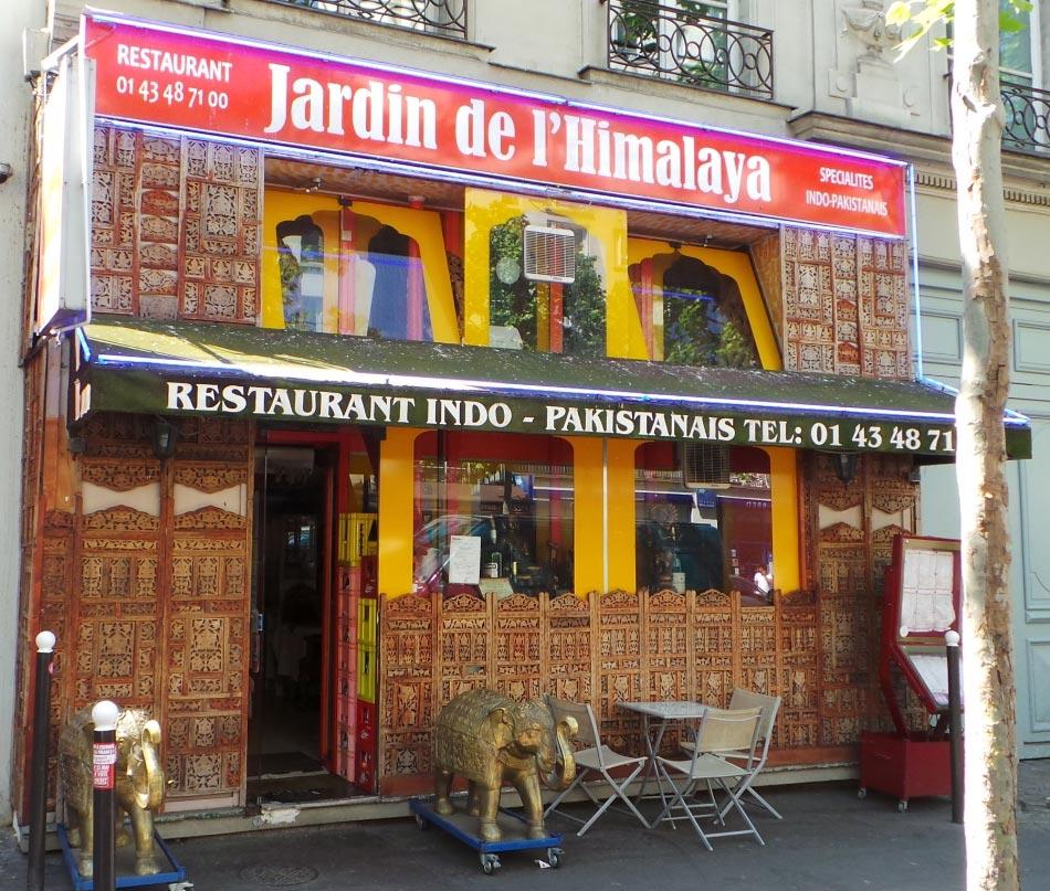 restaurant indien le jardin de l'himalaya